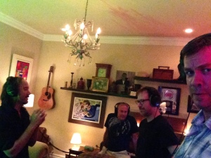 Here are the Quattro Amigos recording this never-to-be-released song.
